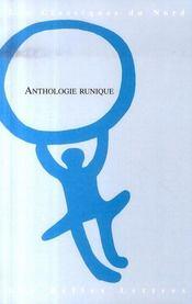 Anthologie runique - Intérieur - Format classique