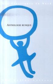 Anthologie runique - Couverture - Format classique