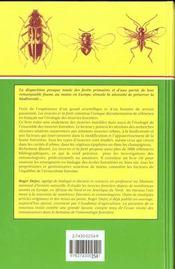 Les Insectes Et La Foret - 4ème de couverture - Format classique