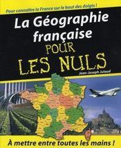 La géographie française pour les nuls - Intérieur - Format classique