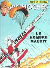 Ric Hochet T.67 ; le nombre maudit - Intérieur - Format classique