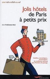 Jolis Hotels De Paris A Petits Prix - Intérieur - Format classique