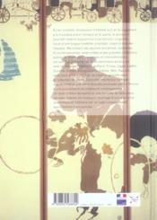 Histoire de paravent (une) - 4ème de couverture - Format classique