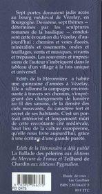 Vezelay - 4ème de couverture - Format classique