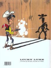 Lucky Luke T.52 ; Fingers - 4ème de couverture - Format classique