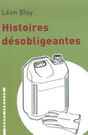 Histoires désobligeantes - Couverture - Format classique
