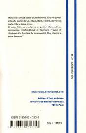 Prélude - 4ème de couverture - Format classique