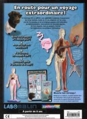 Explore le corps humain - 4ème de couverture - Format classique