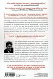Les secrets d'un mentaliste ; comment décrypter les techniques du mensonge et de la manipulation - 4ème de couverture - Format classique