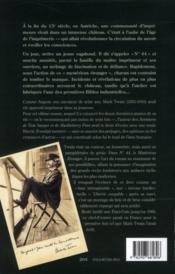 N°44 ; le mystérieux étranger - 4ème de couverture - Format classique