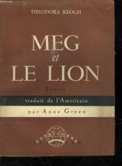 Meg Et Le Lion. - Couverture - Format classique