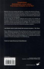 Les guetteurs - 4ème de couverture - Format classique