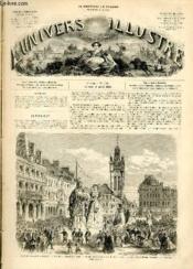 L'UNIVERS ILLUSTRE - HUITIEME ANNEE N° 456 Fête de Gayant à Douai, le 9 Juillet - Couverture - Format classique