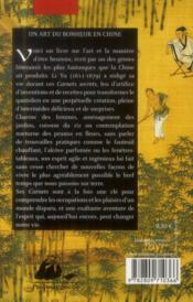 Les carnets secrets de Li Yu ; au gré d'humeurs oisives - 4ème de couverture - Format classique