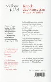 French deconnection ; au coeur des trafics - 4ème de couverture - Format classique