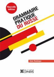 Grammaire pratique du russe - Couverture - Format classique