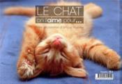 Le chat, on l'aime pour... - 4ème de couverture - Format classique
