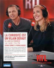 Voyage au coeur du Paris souterrain ; sur les pas de Lorant Deutsch - 4ème de couverture - Format classique