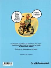 Petit traité de vélosophie - 4ème de couverture - Format classique