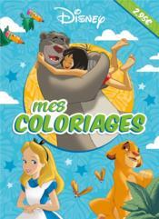 Mes coloriages - Couverture - Format classique
