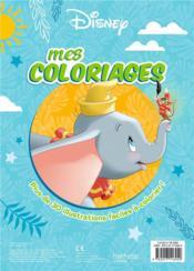 Mes coloriages - 4ème de couverture - Format classique