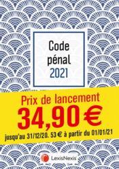 Code pénal ; coquille (édition 2021) - Couverture - Format classique