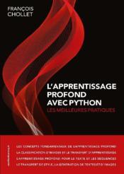 L'apprentissage profond avec python - Couverture - Format classique