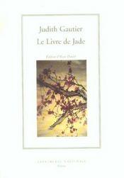 Le Livre De Jade (Broche) - Intérieur - Format classique