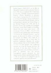 Le Livre De Jade (Broche) - 4ème de couverture - Format classique