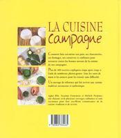 La cuisine de la campagne - 4ème de couverture - Format classique