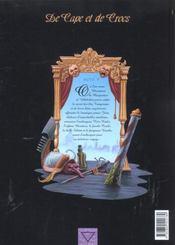 De cape et de crocs t.5 ; jean sans lune - 4ème de couverture - Format classique