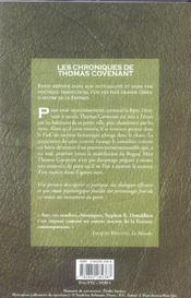 Les chroniques de Thomas Covenant t.1 ; la malédiction du rogue - 4ème de couverture - Format classique