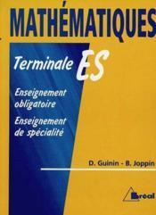 Maths terminale es nouvelle collection - Couverture - Format classique