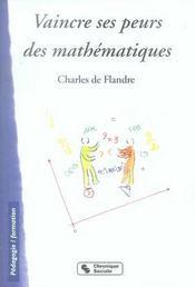 Vaincre ses peurs des mathématiques - Intérieur - Format classique