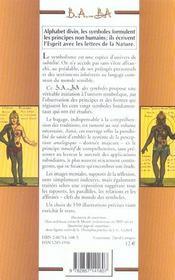 Symboles - 4ème de couverture - Format classique