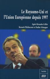 Le Royaume-Uni et l'Union Européenne depuis 1997 - Intérieur - Format classique