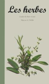 Guide du bon vivant: les herbes - Couverture - Format classique