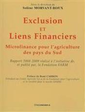 Exclusion Et Liens Financiers Rapport ; Microfinance Pour L'Agriculture Des Pays Du Sud - Couverture - Format classique