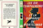 Les Six Compagnons Et La Disparue De Montelimar - Couverture - Format classique