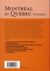 Montréal - 4ème de couverture - Format classique