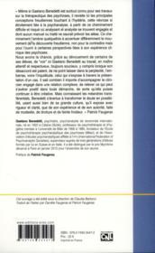 L'hystérie ; séminaire théorico-clinique t.1 - 4ème de couverture - Format classique