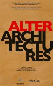 Alterarchitectures - Couverture - Format classique