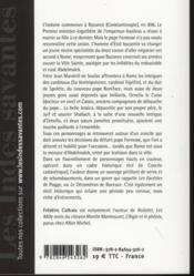 Le synode du cadavre - 4ème de couverture - Format classique