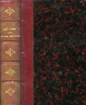 LETTRES DE Mme de SEVIGNE - Couverture - Format classique