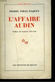 L'Affaire Audin - Couverture - Format classique