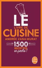 Le livre de cuisine ; 1500 recettes en poche ! - Couverture - Format classique
