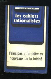 Les Cahiers Rationalistes N° 318 Octobre 1975. Principes Et Problemes Nouveaux De La Laicite. - Couverture - Format classique