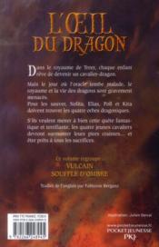 L'oeil du dragon ; t.1 et t.2 - 4ème de couverture - Format classique