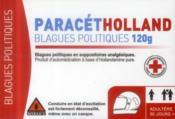 telecharger Paracetholland – blagues politiques 120g livre PDF/ePUB en ligne gratuit