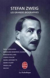 Les grandes biographies - Couverture - Format classique